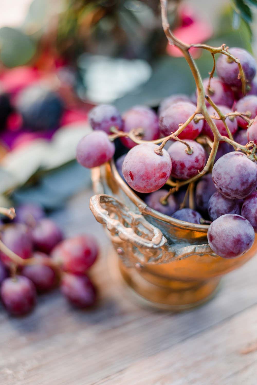 Fruit Decor Autumnal Fairytale Wedding Ideas Miriam Peuser Photography