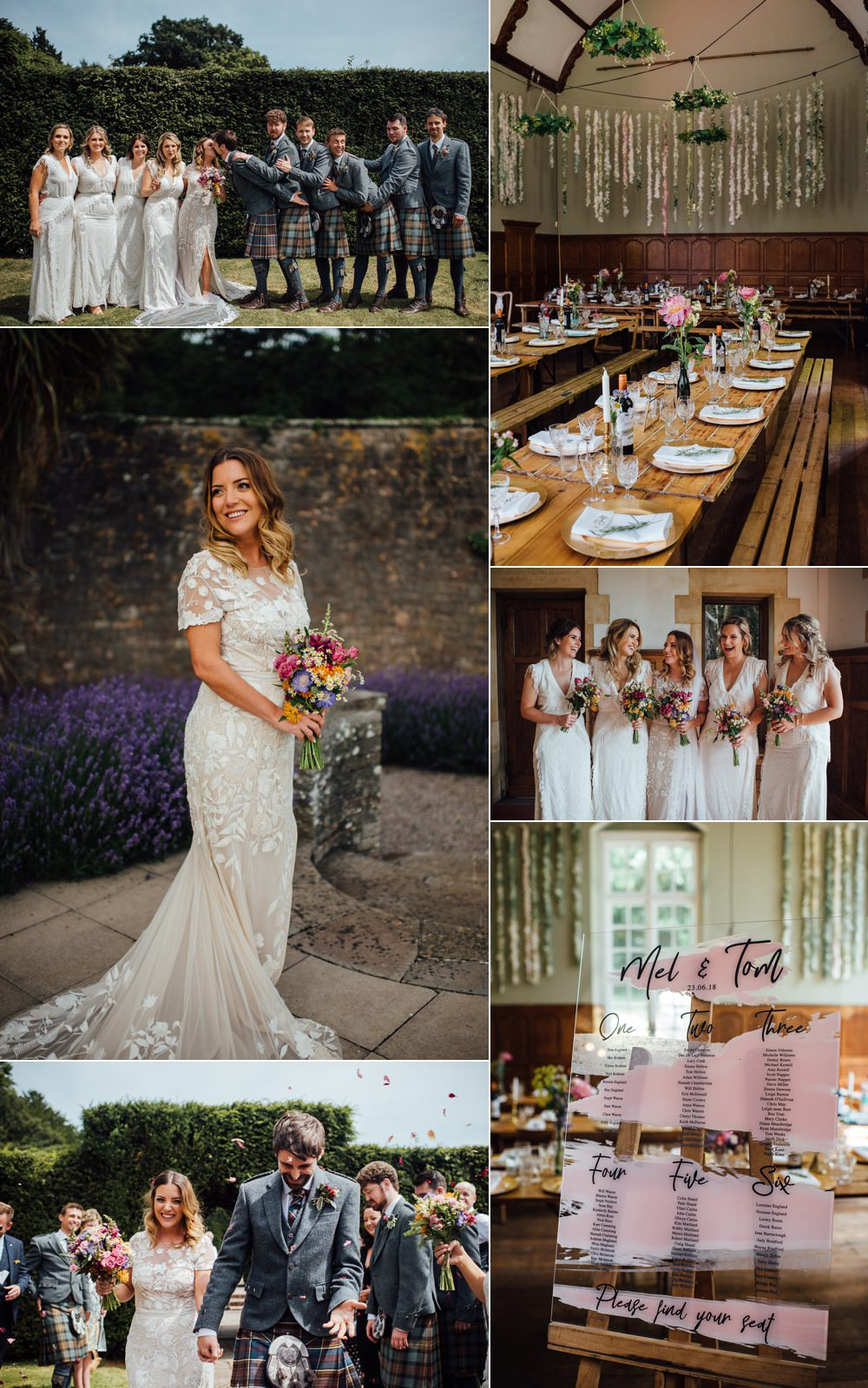 Modern Rustic & Cool Party Wedding The Shannons Photography