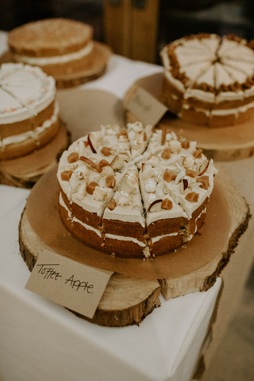 Cake Dessert Table Barn Upcote Wedding Siobhan Beales Photography
