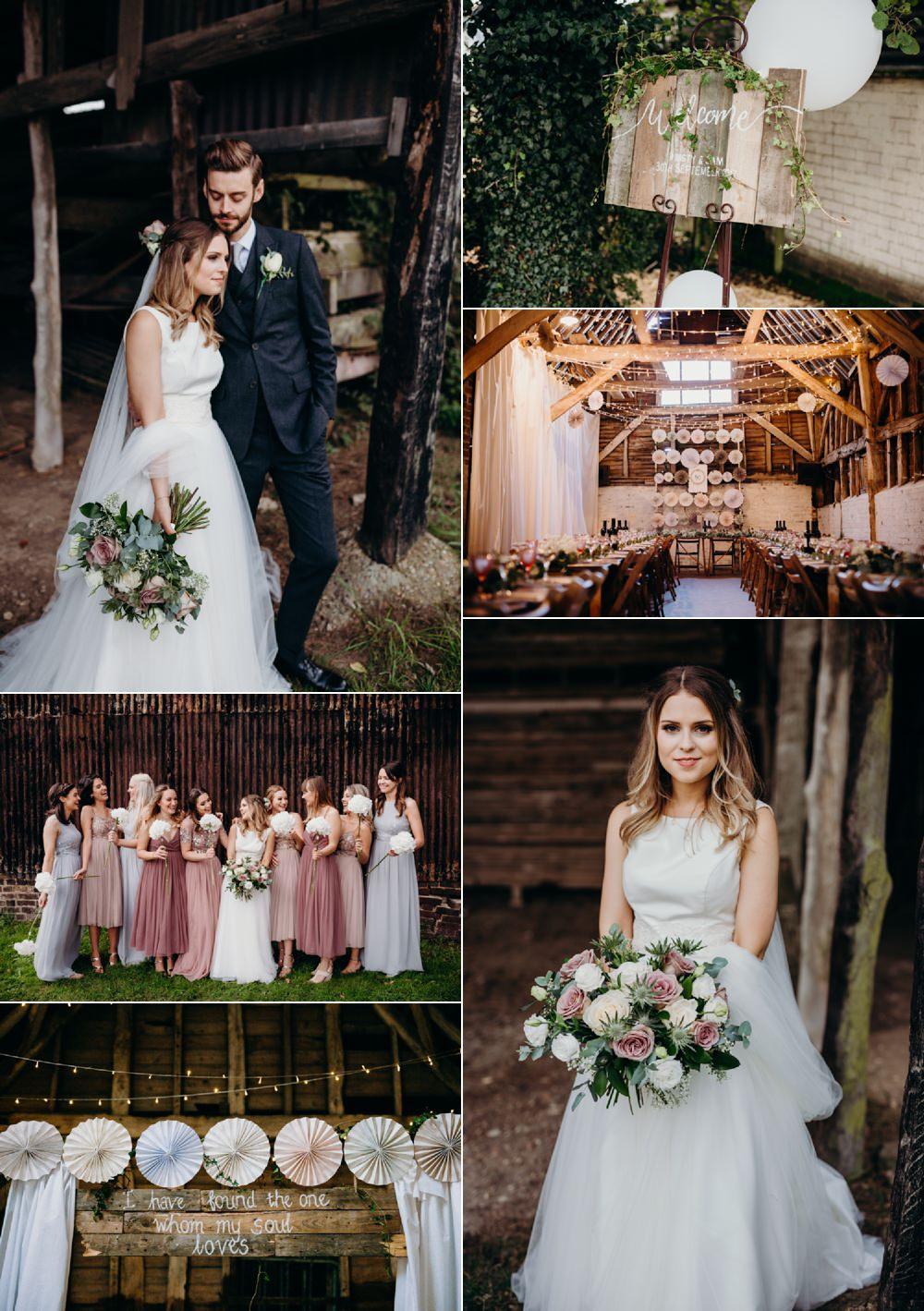 Incredibly Creative Boho DIY Barn Wedding Beard and Mane Photography