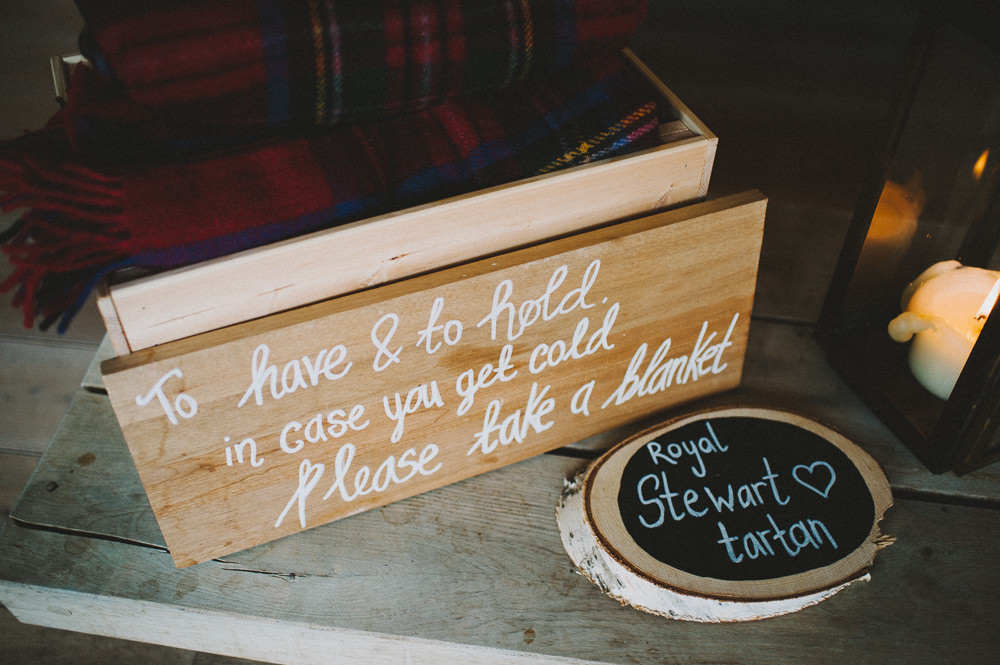 Tartan Blankets To Have & To Hold Hazel Gap Wedding Maree Frances Photography