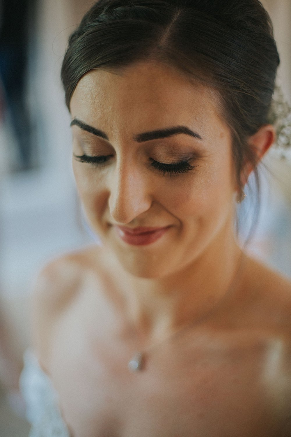 Bride Bridal Make Up Beauty Houchins Farm Wedding Julia and You Photography