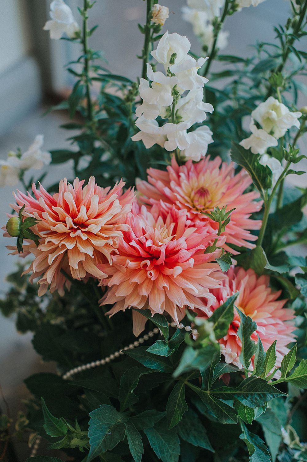 Croal Dahia Flowers Houchins Farm Wedding Julia and You Photography