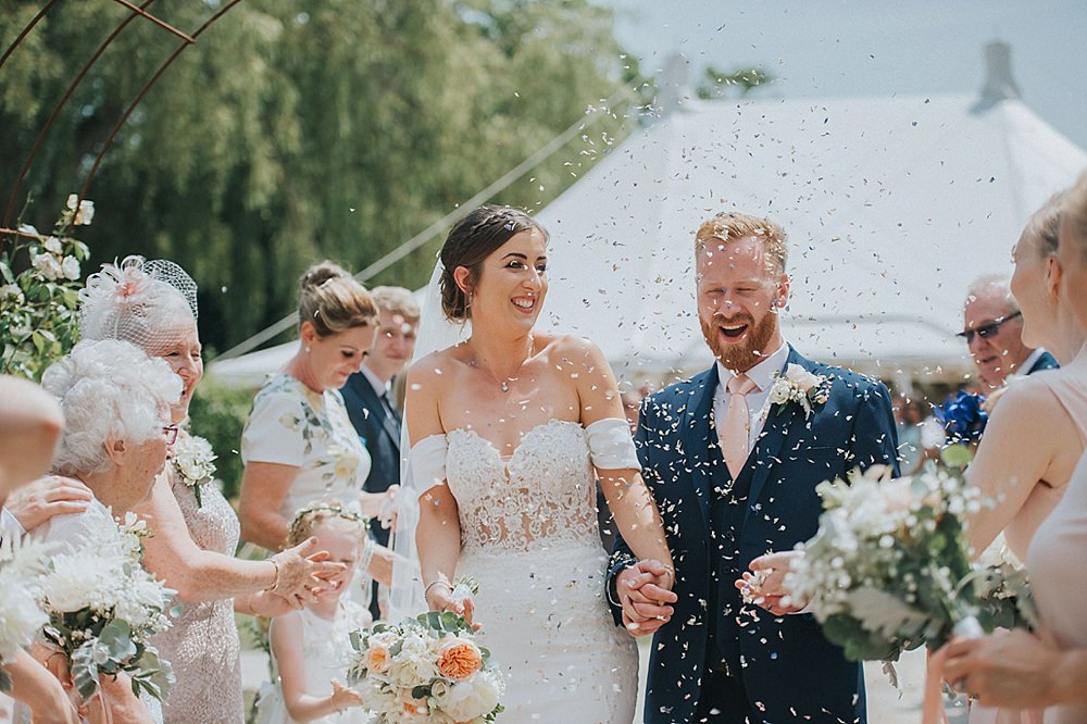 Confetti Throw Houchins Farm Wedding Julia and You Photography
