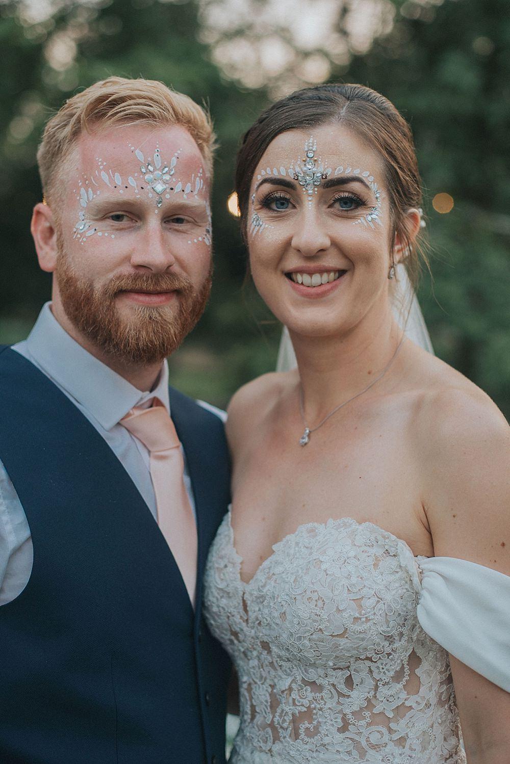 Glitter Make Up Bride Bridal Groom Houchins Farm Wedding Julia and You Photography