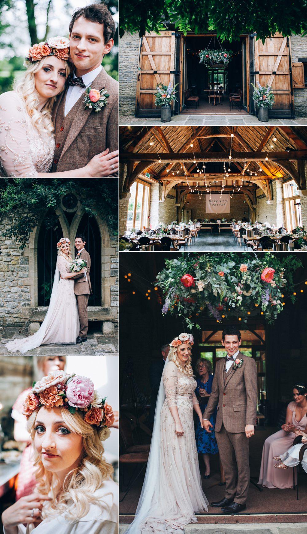 Flowery Bohemian Secret Garden Wedding Casey Avenue Photography