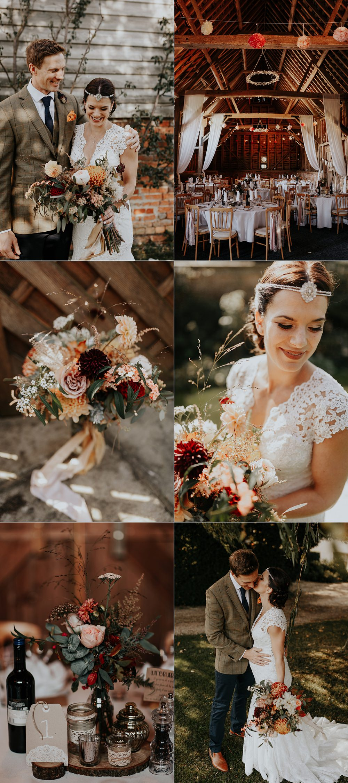 Simply Stunning Bohemian Autumn Countryside Barn Wedding Jen Marino Photography