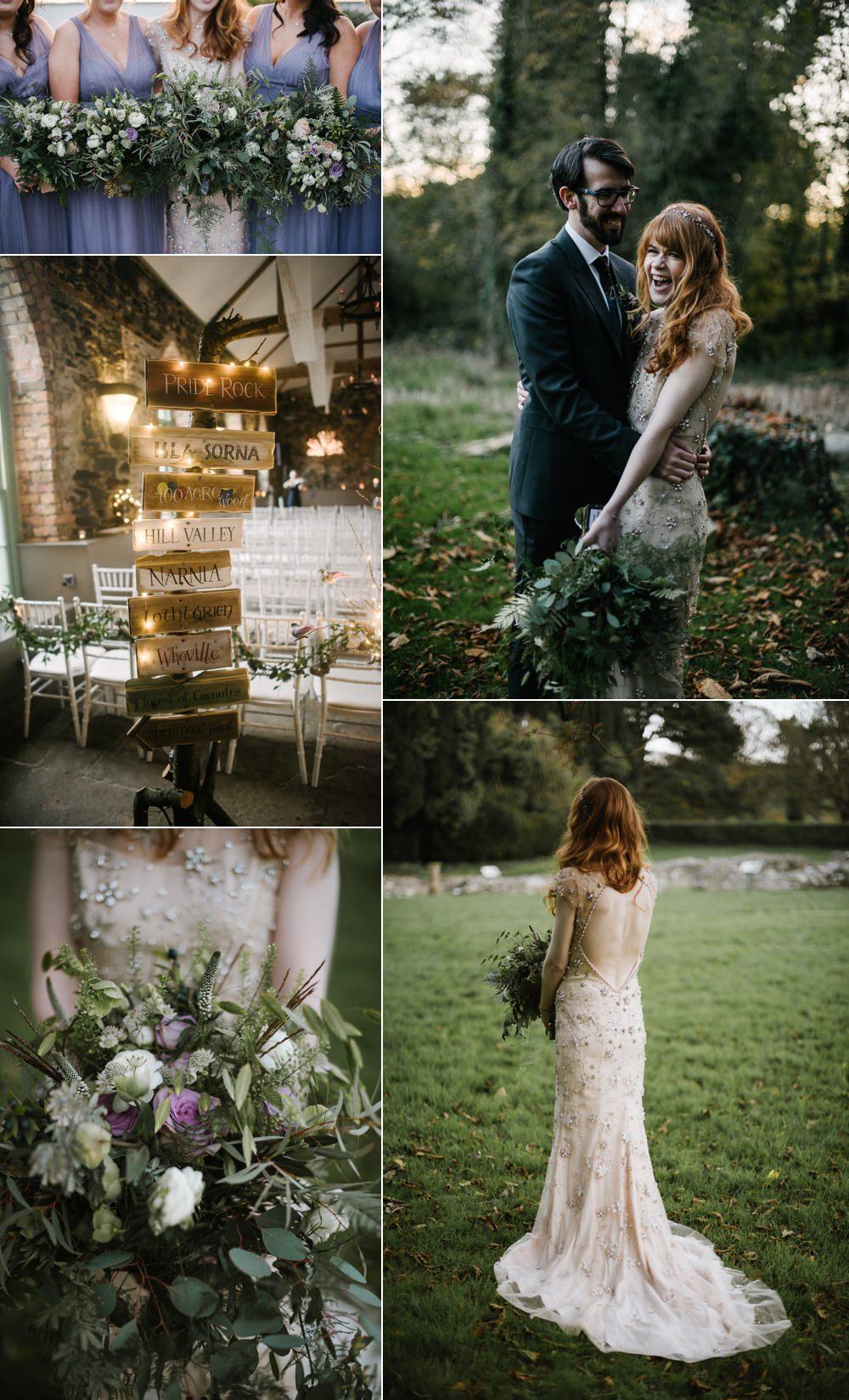 Magical Winter Woodland Wedding You Them Us Photography