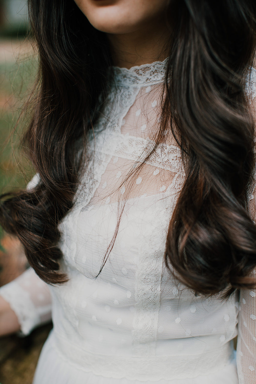 Hair Bride Bridal Waves Curls Bohemian Music Folk Wedding Ideas Gail Secker Photography