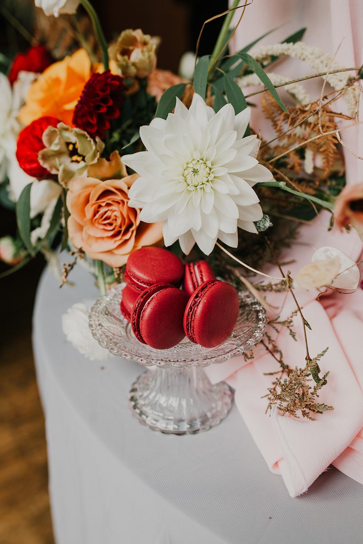 Macaroons Bohemian Music Folk Wedding Ideas Gail Secker Photography