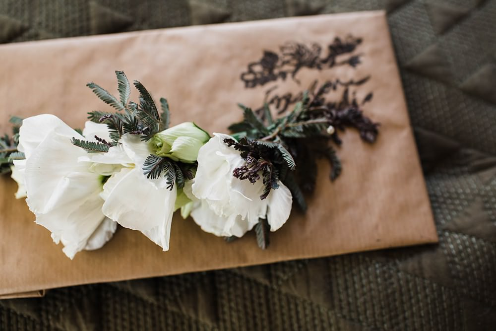 Rose Buttonhole Flowers Groom Cherwell Boathouse Wedding Claudia Rose Carter Photography