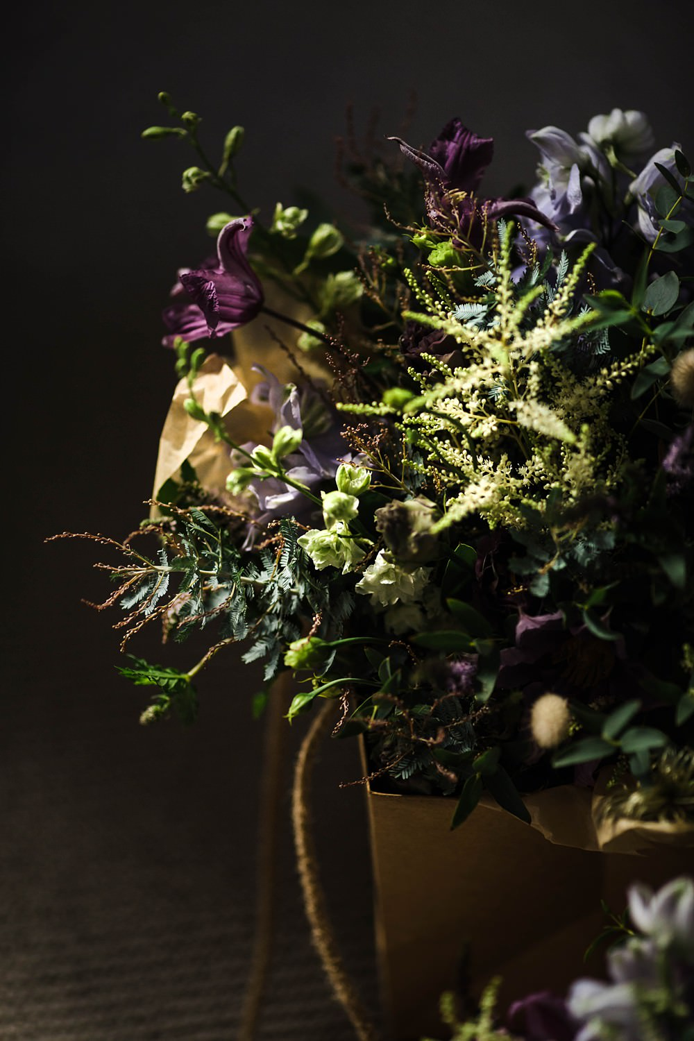 Bride Bridal Bouquet Flowers Wid Herbs Foliage Cherwell Boathouse Wedding Claudia Rose Carter Photography