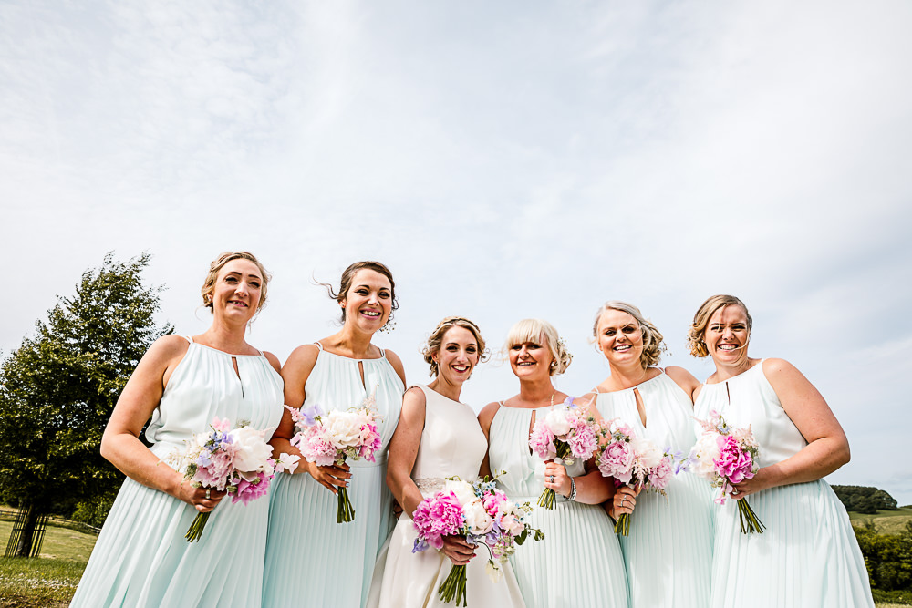 Mint Green Bridesmaid Dress Dresses Coniston Hotel Wedding Hayley Baxter Photography