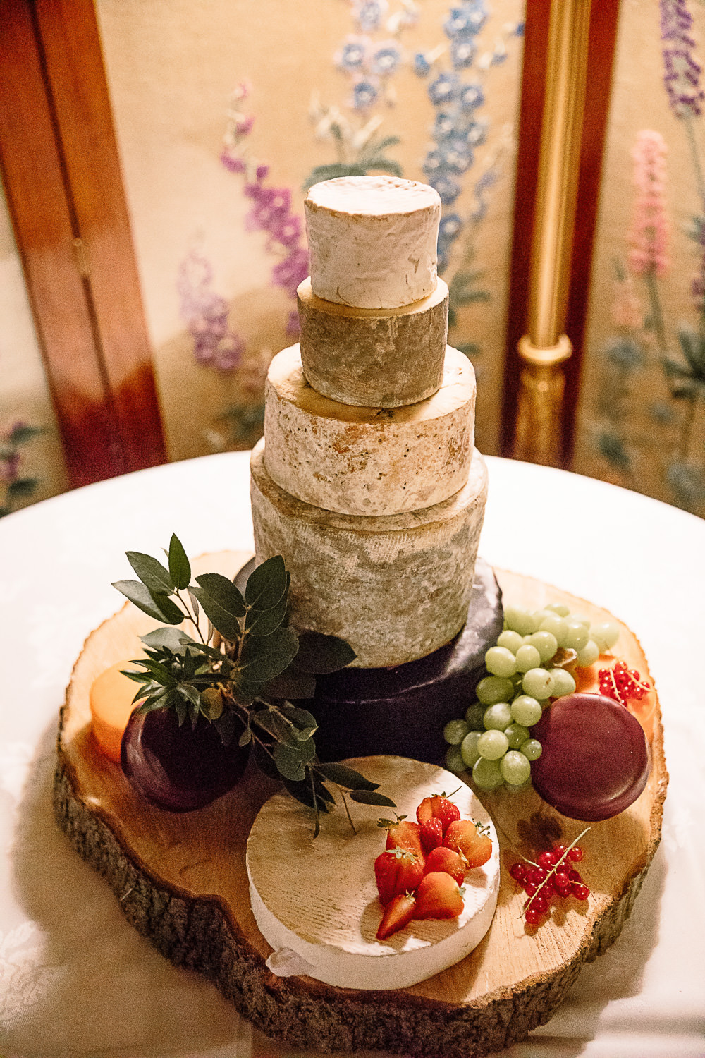 Cheese Cake Tower Tiered Crab and Lobster Wedding Hayley Baxter Photography
