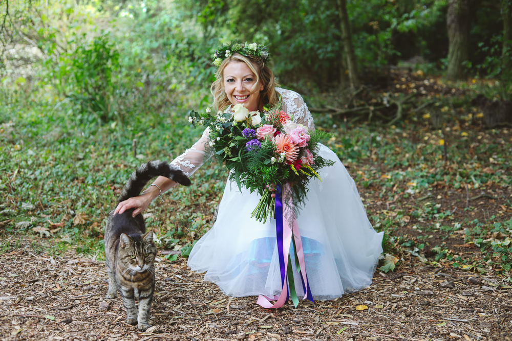 Pet Cat Enchanted Garden Events Wedding Sharon Cooper Photography