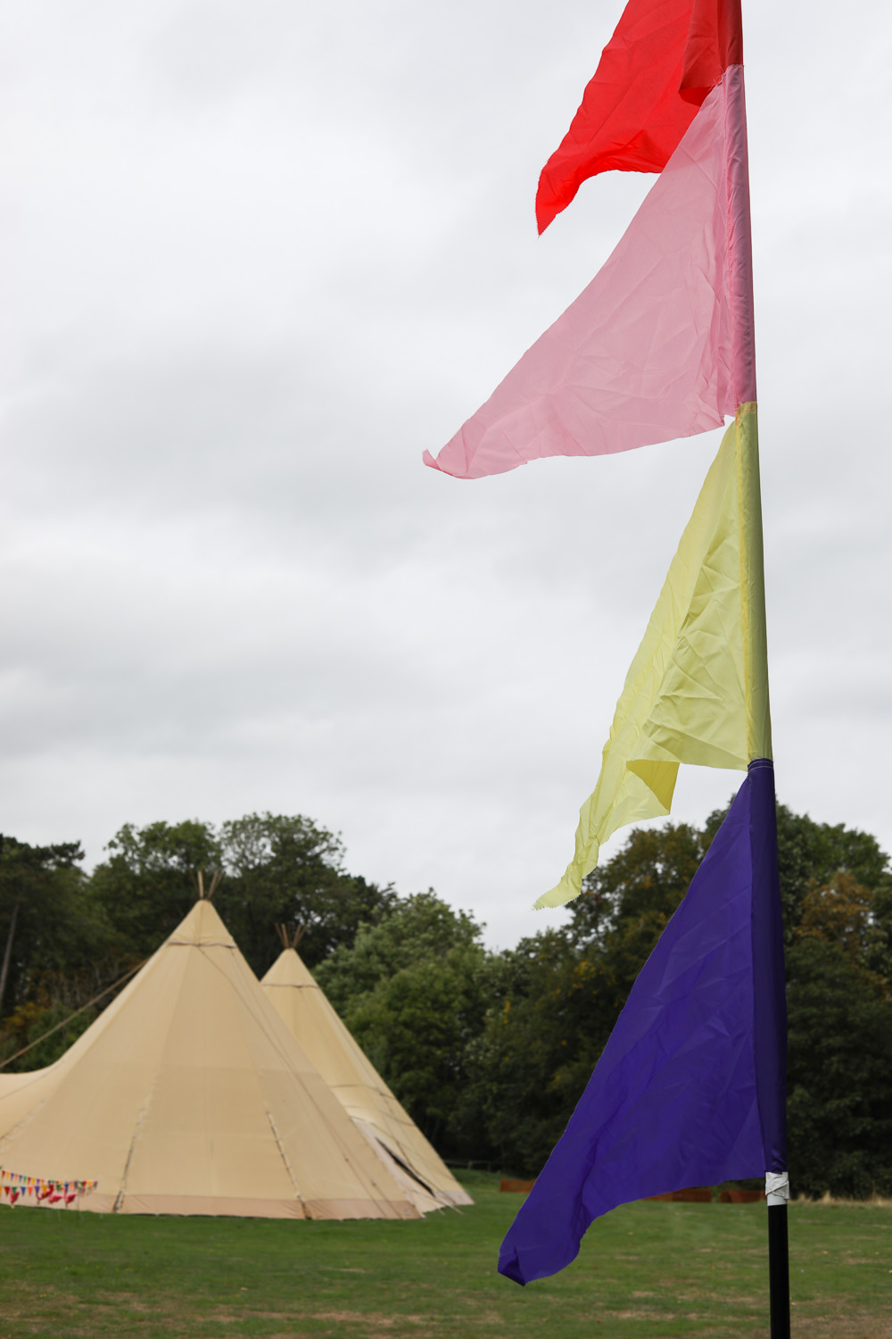 Tipis Festival Flags Enchanted Garden Events Wedding Sharon Cooper Photography