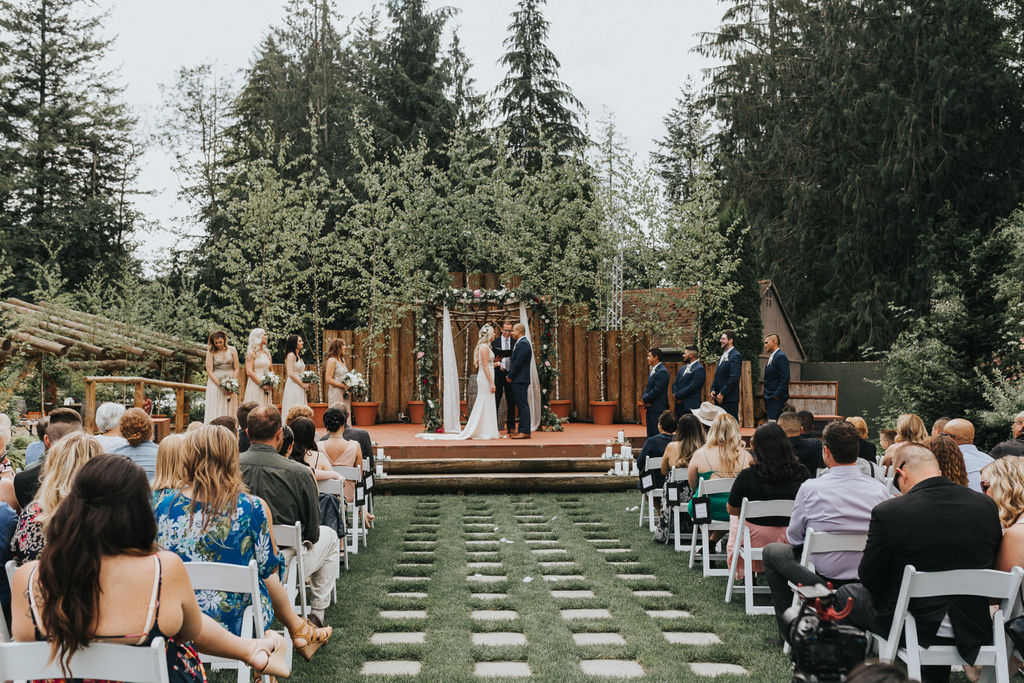 Greenhouse Garden Washington Wedding Beginning and End Photography