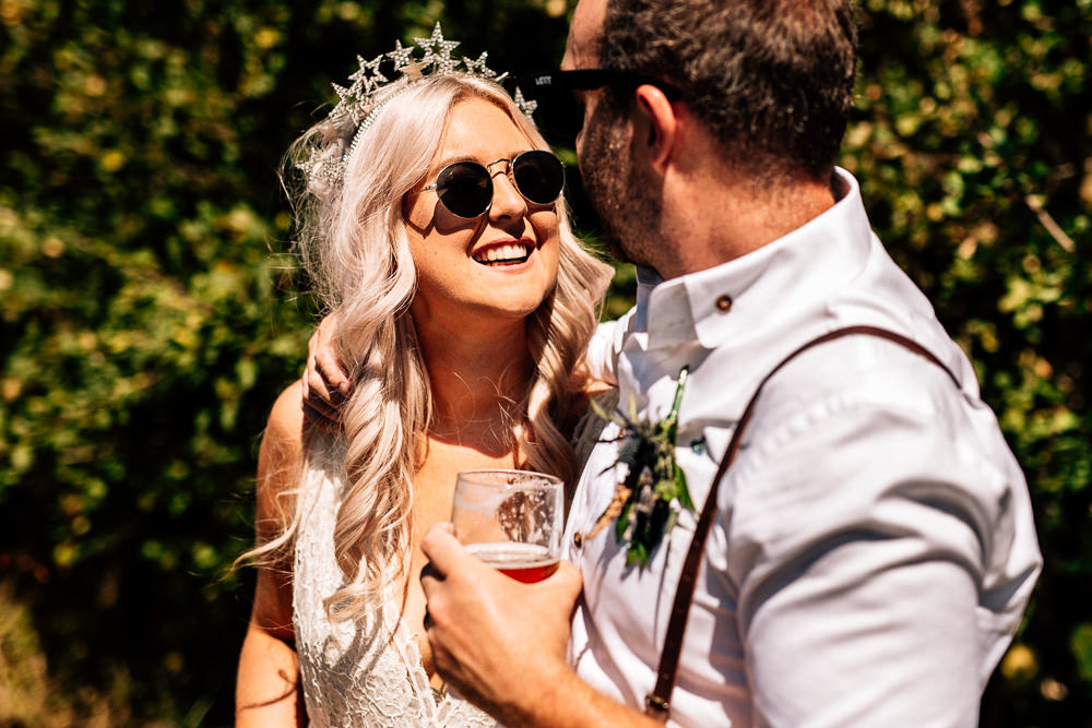 Sunglasses Bride Bridal Accessory Park House Barn Wedding Fairclough Studios