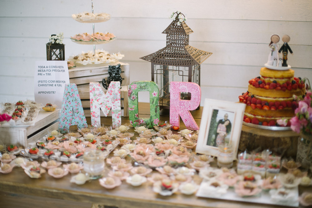 Brazilian Dessert Sweet Table Amor Papier Mache Barn At Barra Castle Wedding Ceranna Photography