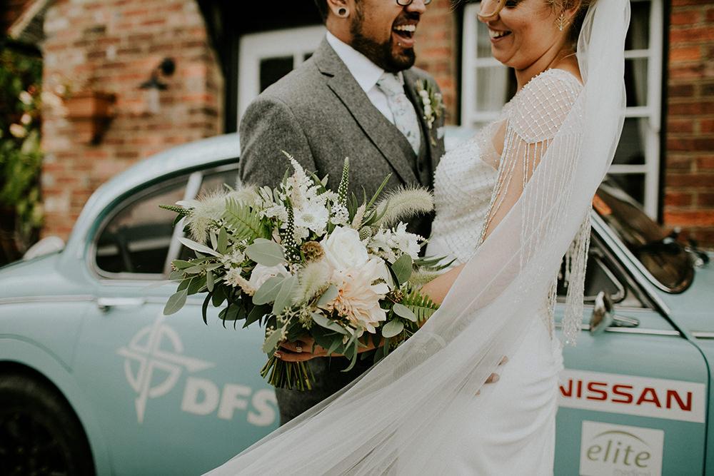 Veil Bride Bridal Bell Ticehurst Wedding Irene Yap Photography