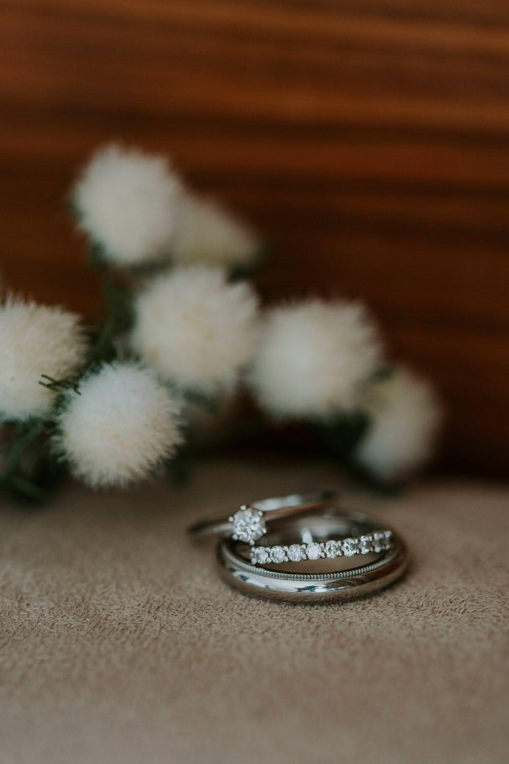 Engagement Rings Band Eternity Diamond Bohemian Beach Greece Destination Wedding Lighthouse Photography