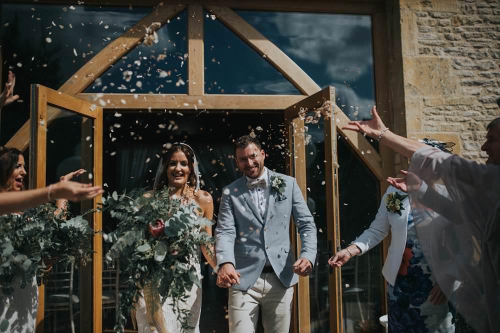 Confetti Eucalyptus Boho Greenery Barn Wedding Kerry Diamond Photography