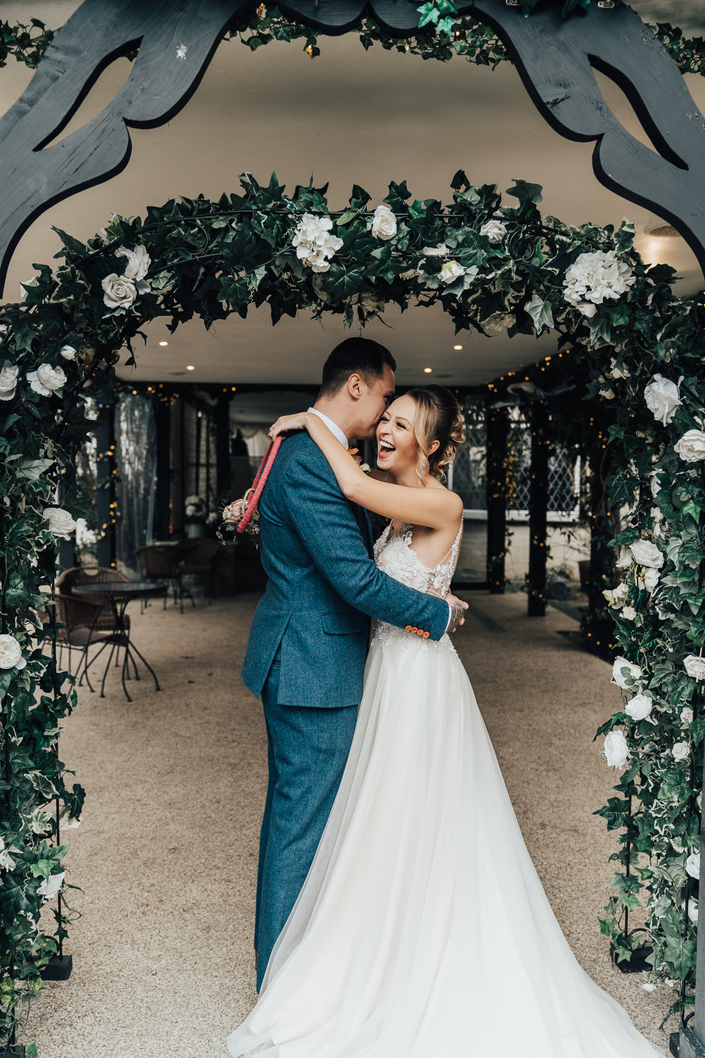 Greenery Foliage Arch Flower Backdrop Hoop Wedding Ideas Rebecca Carpenter Photography