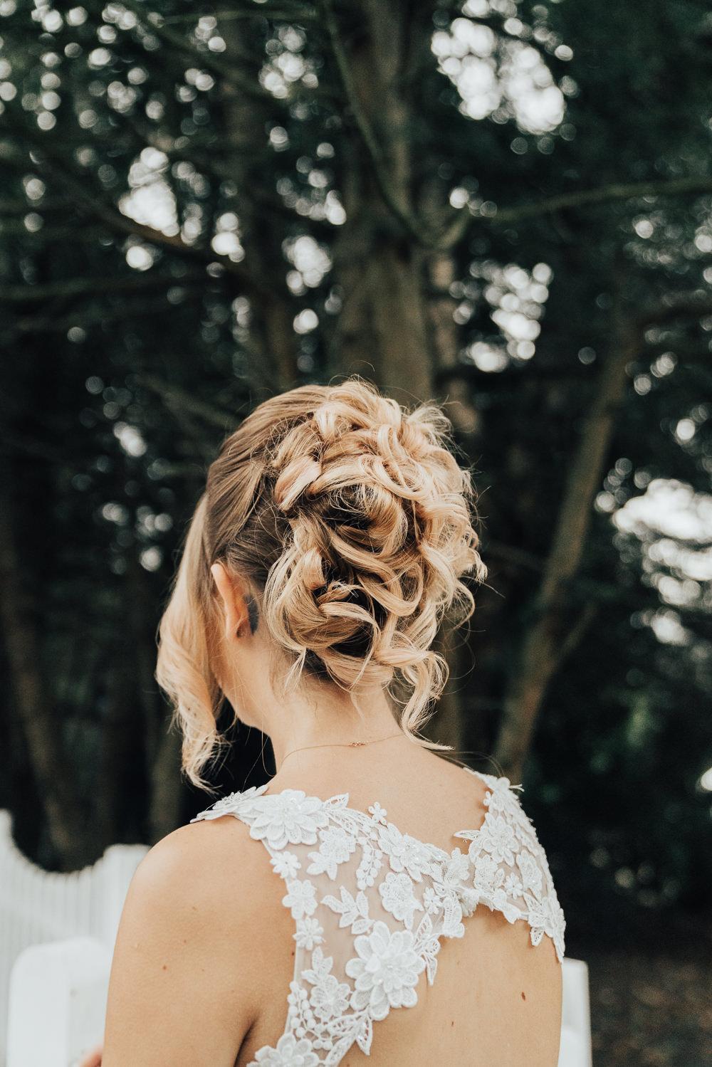 Bride Bridal Hair Style Up Do Hoop Wedding Ideas Rebecca Carpenter Photography