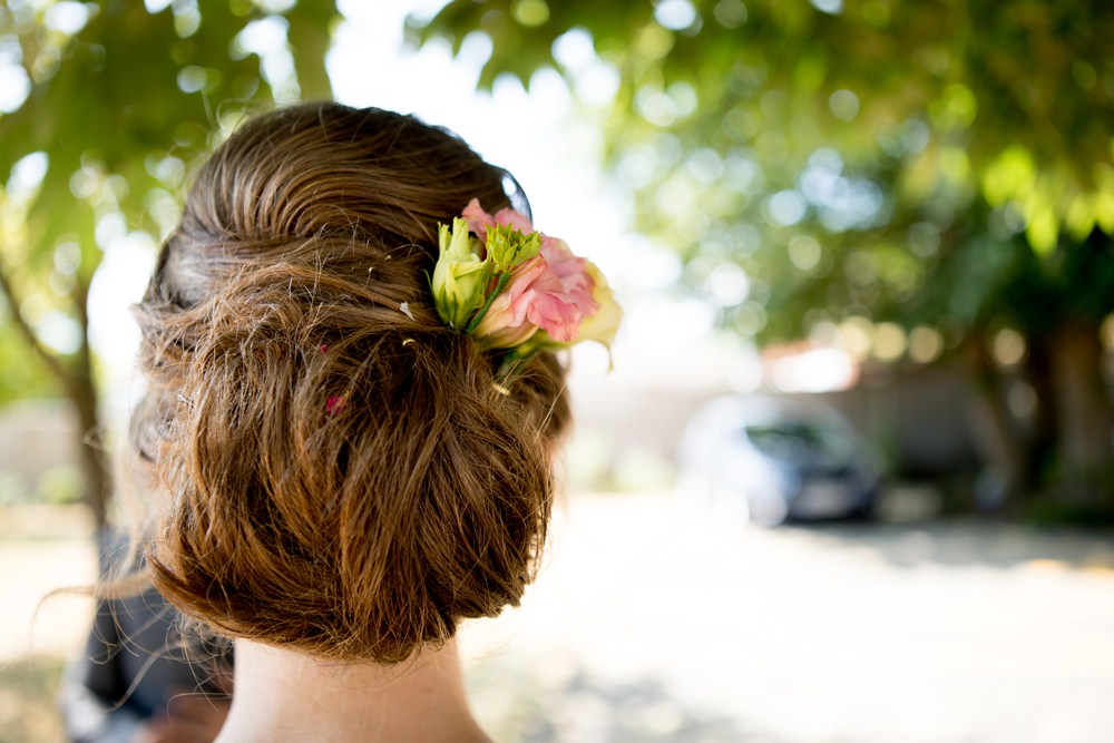 Bride Bridal Up Do Chignon Meon Bye Farm Wedding Jessica Hayman Photography