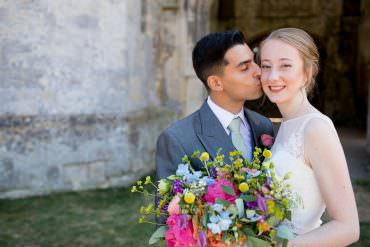 Colourful Rustic & Relaxed Marquee Wedding