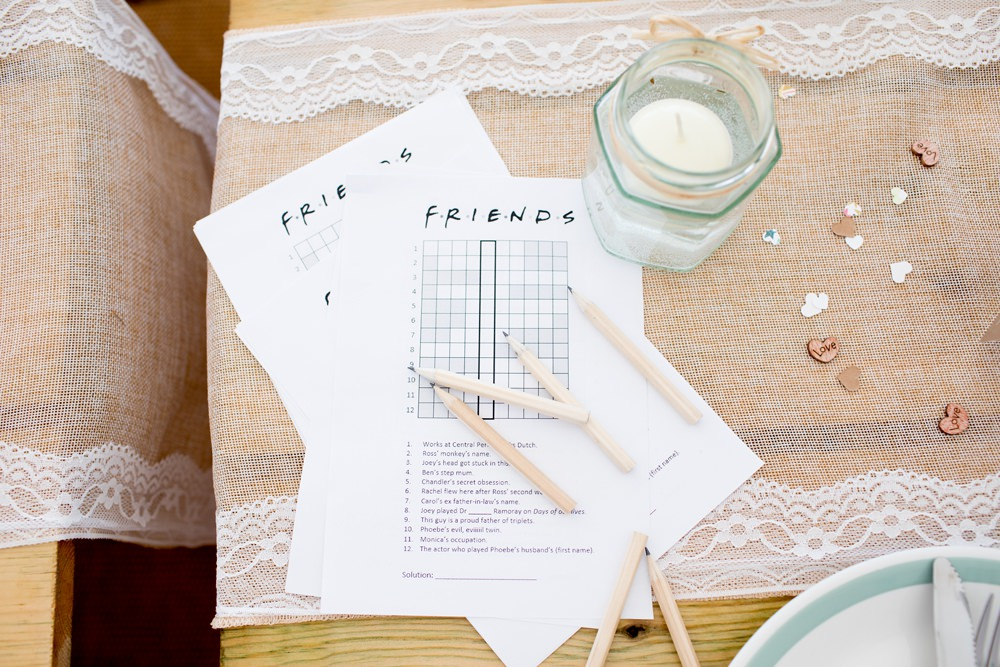Friends Crossword Meon Bye Farm Wedding Jessica Hayman Photography