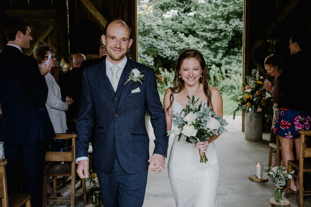 Rustic & Personal Greenery Barn Wedding