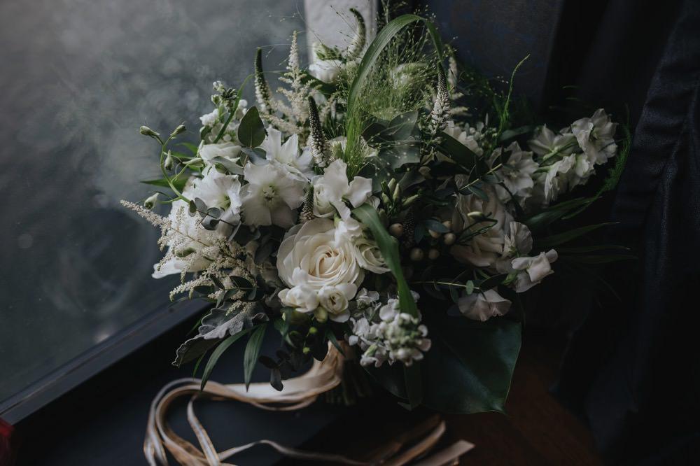 Bouquet Flowers Bride Bridal Greenery Foliage Rose Astilbe Stocks Sefton Park Wedding Bloom Weddings