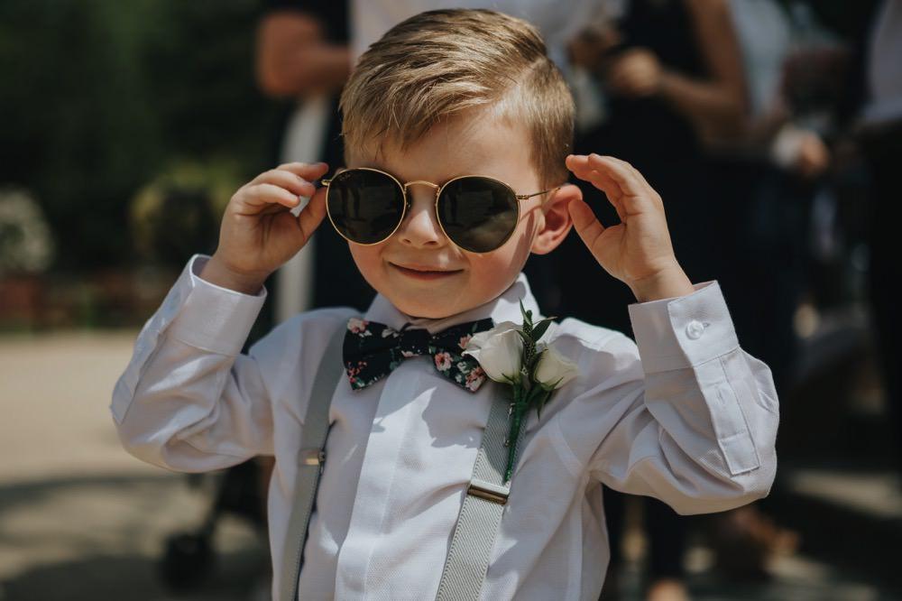 Page Boy Bow Tie Braces Sefton Park Wedding Bloom Weddings