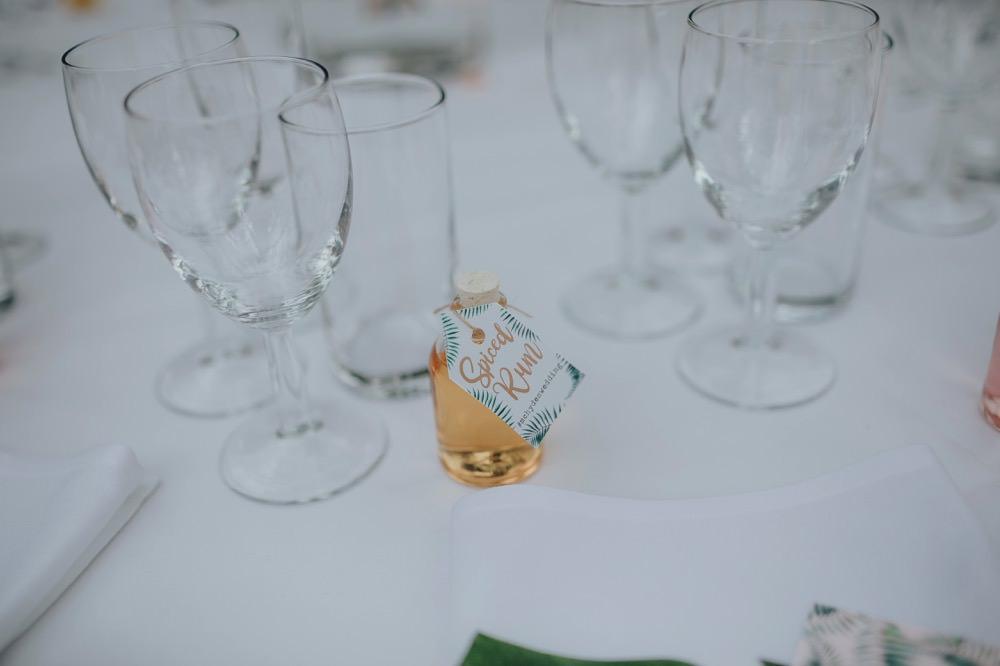 Drink Bottle Favours Mini Sefton Park Wedding Bloom Weddings