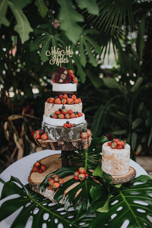 Cheese Cake Tower Stack Fruit Sefton Park Wedding Bloom Weddings