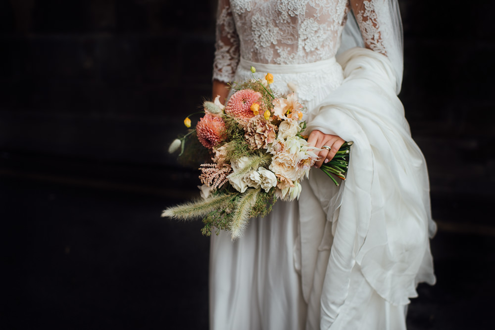 Bouquet Flowers Bride Bridal Pink St Paul's Cathedral Wedding The Shannons Photography