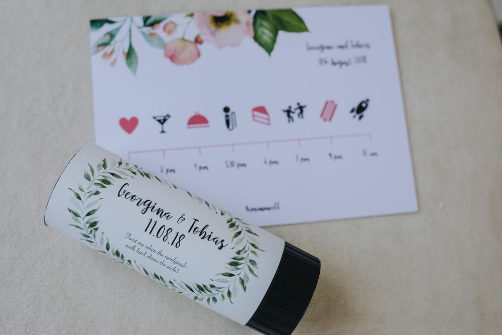 Confetti Pop Wimborne House Wedding Eva Photography