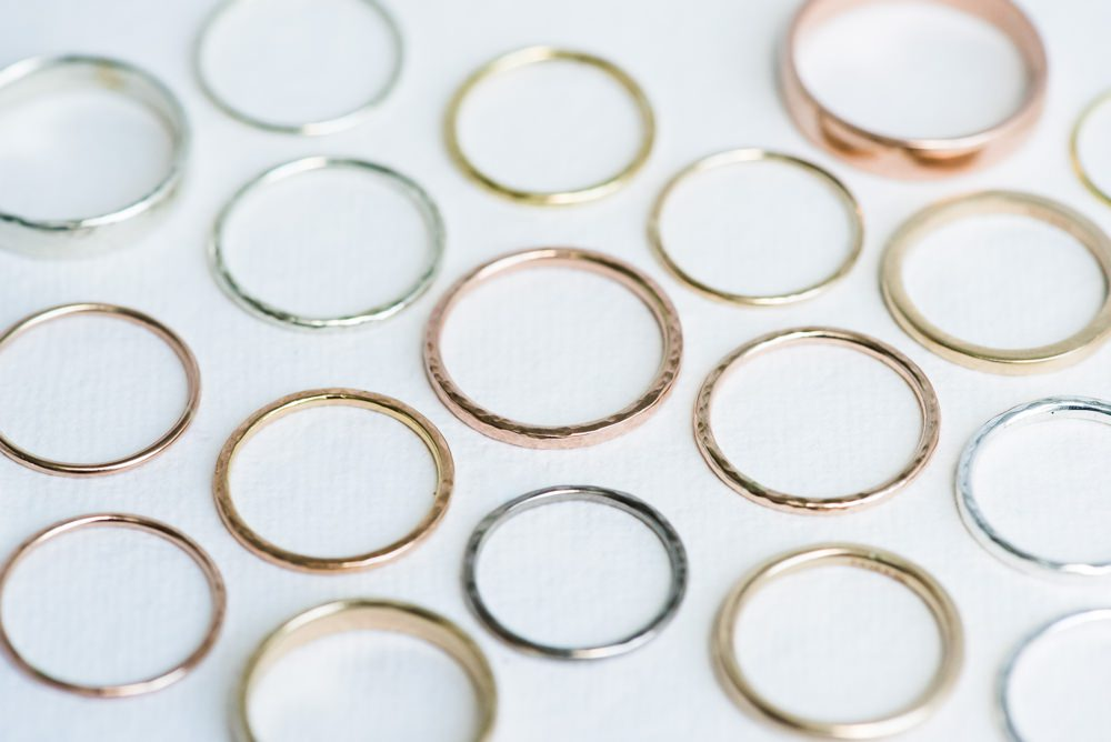 Wedding Engagement Ring Metals