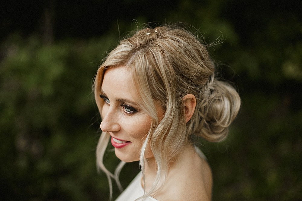 Bride Bridal Hair Style Up Do Bun Plait Braid Abbeydale Picture House Wedding We Are Da Silva