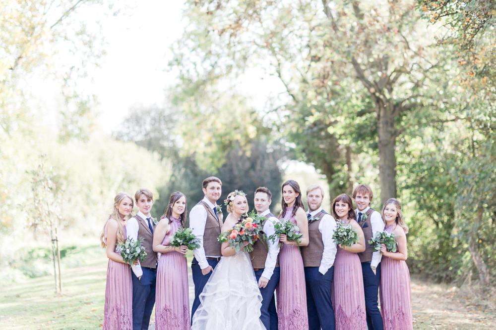 Autumnal Boho Wedding Ivory White Photography