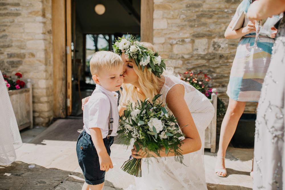 Page Boy Shorts Braces Bohemian Carefree Countryside Wedding Lush Imaging by Naomi