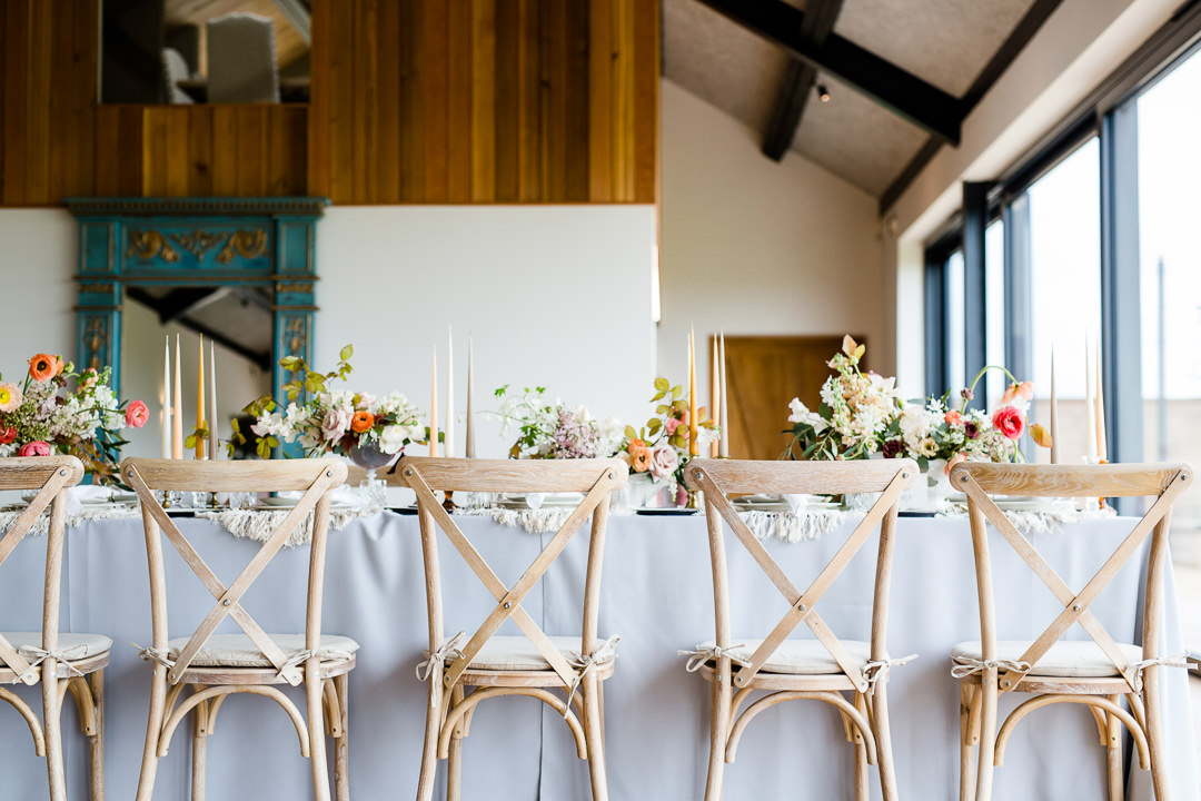 Eco-Friendly Wedding Credit Lydia Stamps Photography Casterley Barn