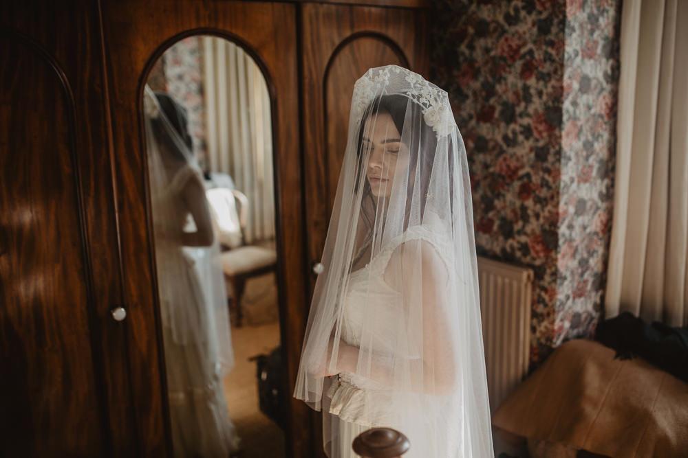 Veil Accessory Bride Bridal Headband Crown Tiara Edwardian Wedding Ideas Camilla Andrea Photography