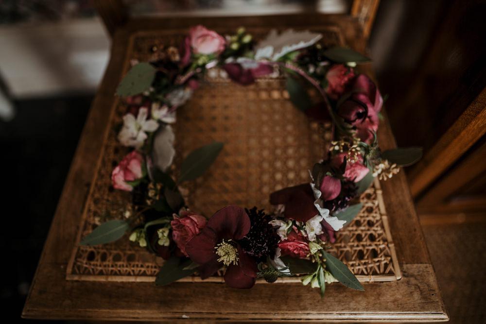Flower Crown Bride Bridal Accessory Edwardian Wedding Ideas Camilla Andrea Photography