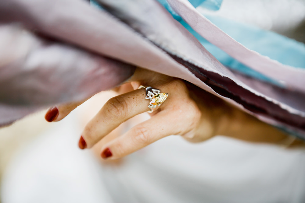 Unusual Alternative Engagement Ring Band Ethereal Romantic Wedding Ideas Katherine Newman Photography