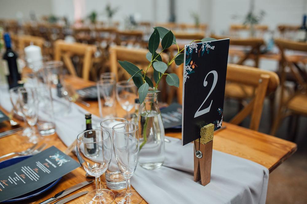 Floral Black Peg Table Number Fivefourstudios Wedding Ellie Grace Photography
