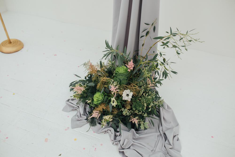 Anemone Greenery Foliage Flowers Fivefourstudios Wedding Ellie Grace Photography