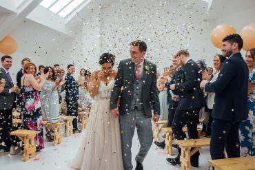 Confetti Glitter Fivefourstudios Wedding Ellie Grace Photography