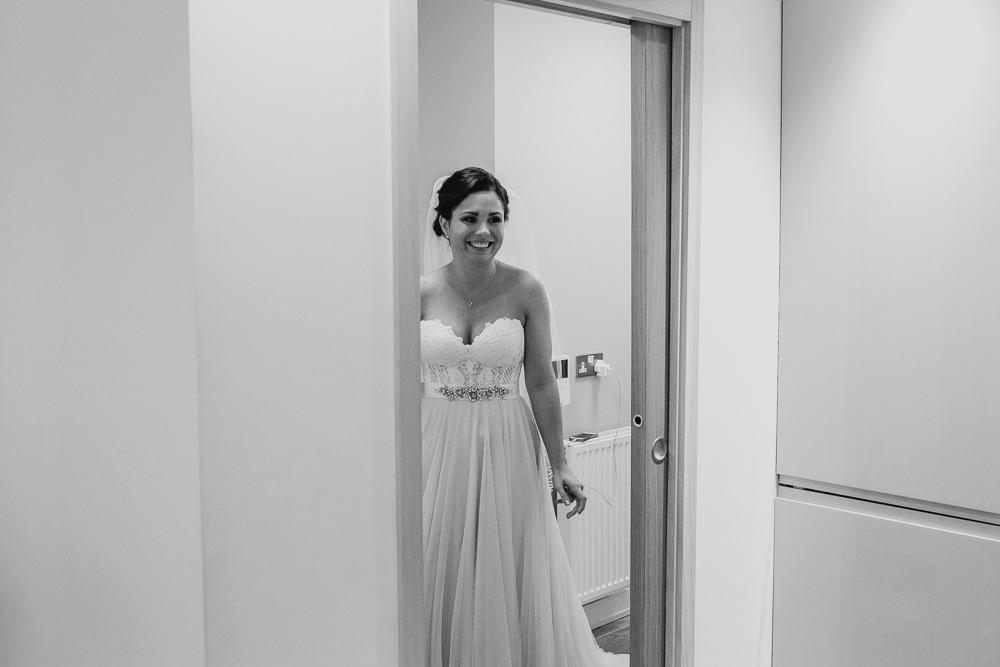 Dress Gown Bride Bridal Strapless Sweetheart Martina Liana Skirt Top Fivefourstudios Wedding Ellie Grace Photography